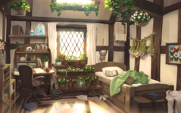 Anime Room HD Wallpaper   Background Image