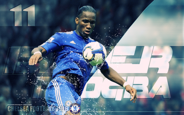Sports Didier Drogba Soccer Player Chelsea F.C. HD Wallpaper   Background Image