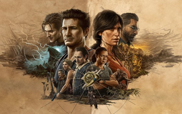 Video Game Uncharted: Legacy of Thieves Collection Uncharted HD Wallpaper   Background Image