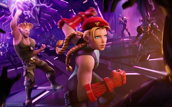 Video Game Fortnite Street Fighter Cammy Guile HD Wallpaper | Background Image
