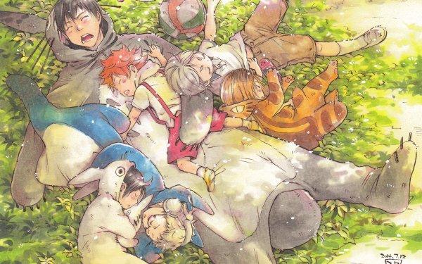 Anime Haikyu!! Shōyō Hinata Tobio Kageyama Kenma Kozume Koushi Sugawara Tadashi Yamaguchi HD Wallpaper | Background Image