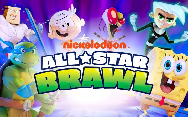 Video Game Nickelodeon All-Star Brawl HD Wallpaper | Background Image