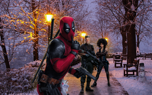 Movie Deadpool 2 Deadpool Domino Cable HD Wallpaper | Background Image