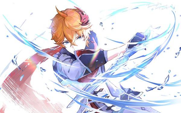 Video Game Genshin Impact Tartaglia Childe HD Wallpaper | Background Image