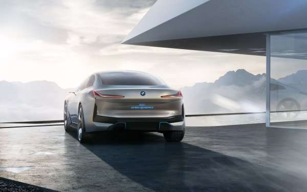 Vehicles BMW i Vision Dynamics BMW Luxury Car Electric Car Concept Car Coupé HD Wallpaper   Background Image
