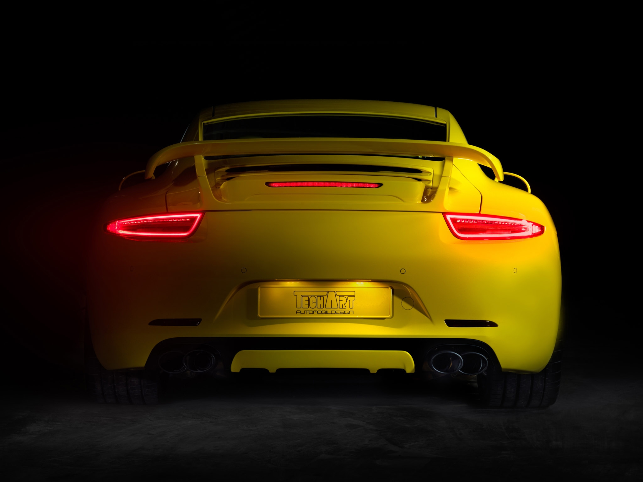 Techart Porsche 911 Carrera S Coupe 991 2012 Hd Wallpaper