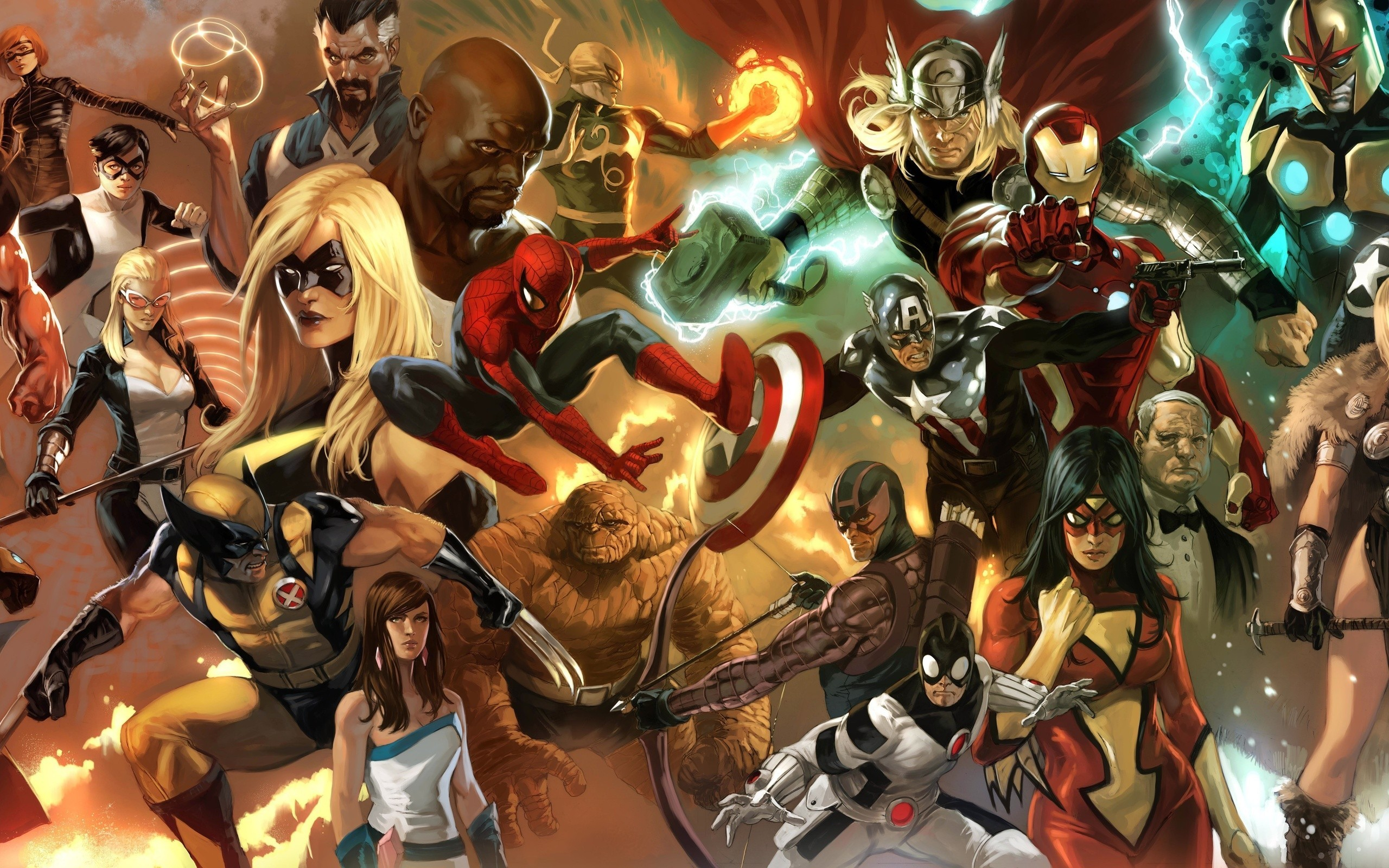 974 Marvel Comics HD Wallpapers