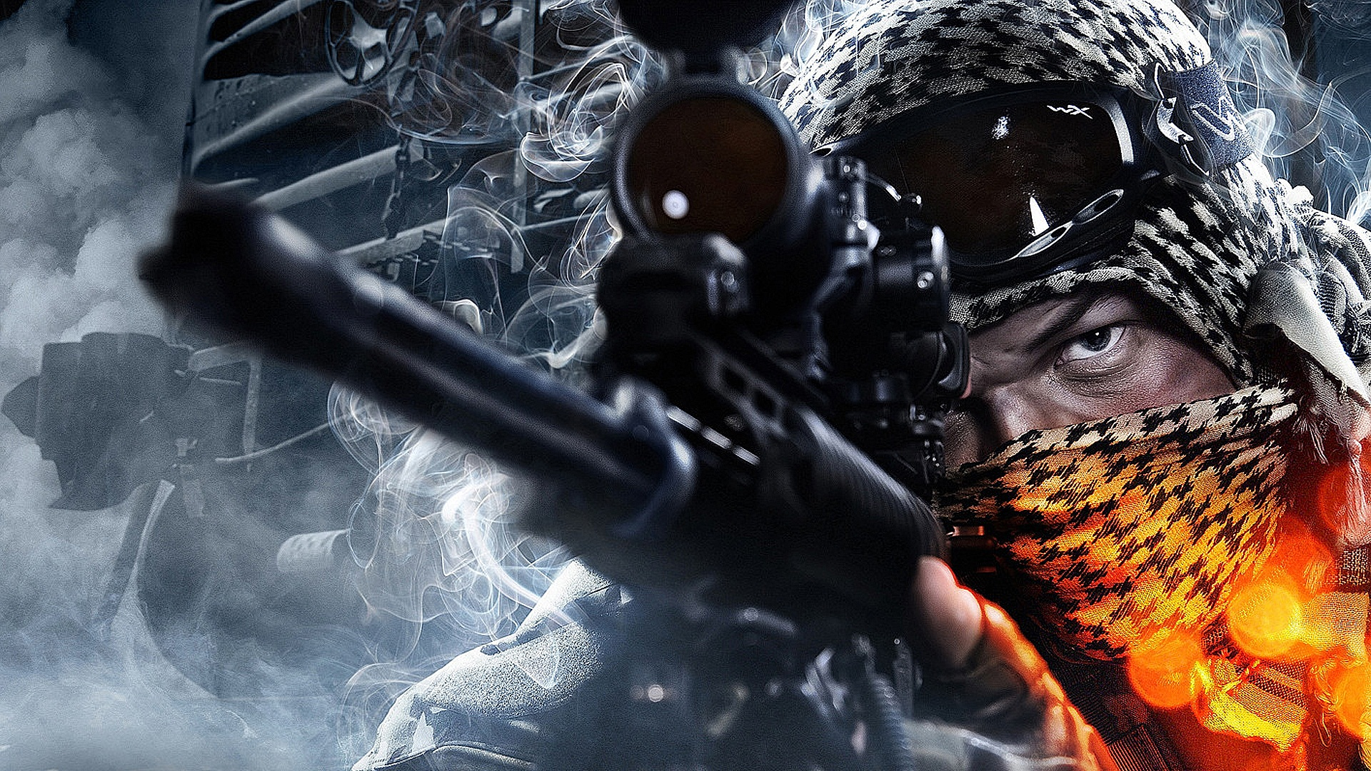 Battlefield 3 full hd wallpaper and background image 1920x1080 video game battlefield 3 wallpaper voltagebd Images