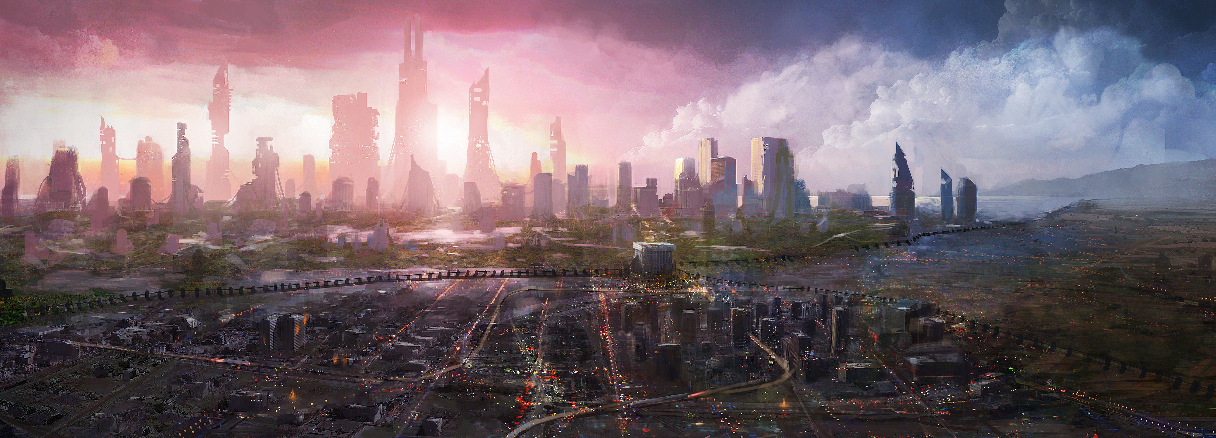 1 Future City HD Wallpapers  Backgrounds Wallpaper Abyss