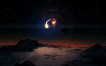 Научная фантастика - Black Hole Wallpapers and Backgrounds ID : 283345