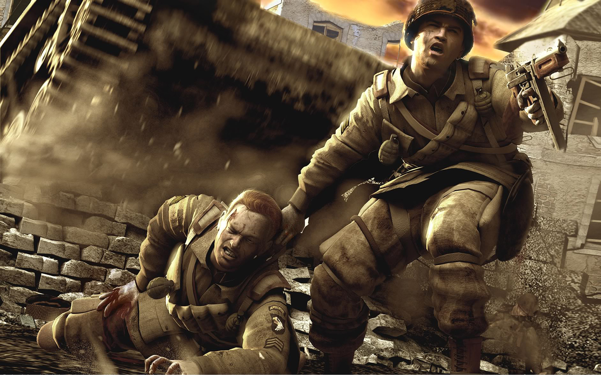 brothers in arms hd wallpaper | background image | 1920x1200 | id