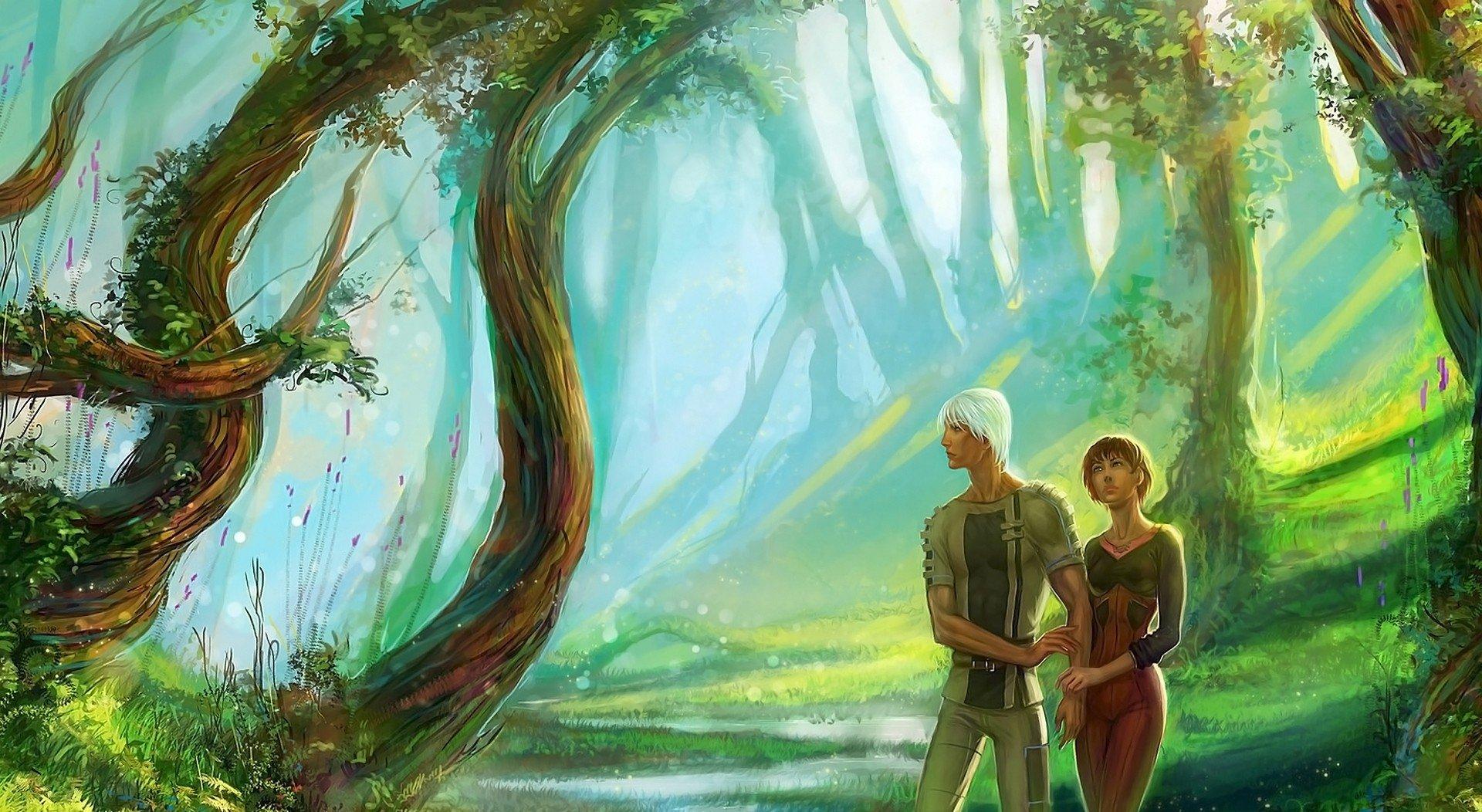 Fantasy - Love  Wallpaper