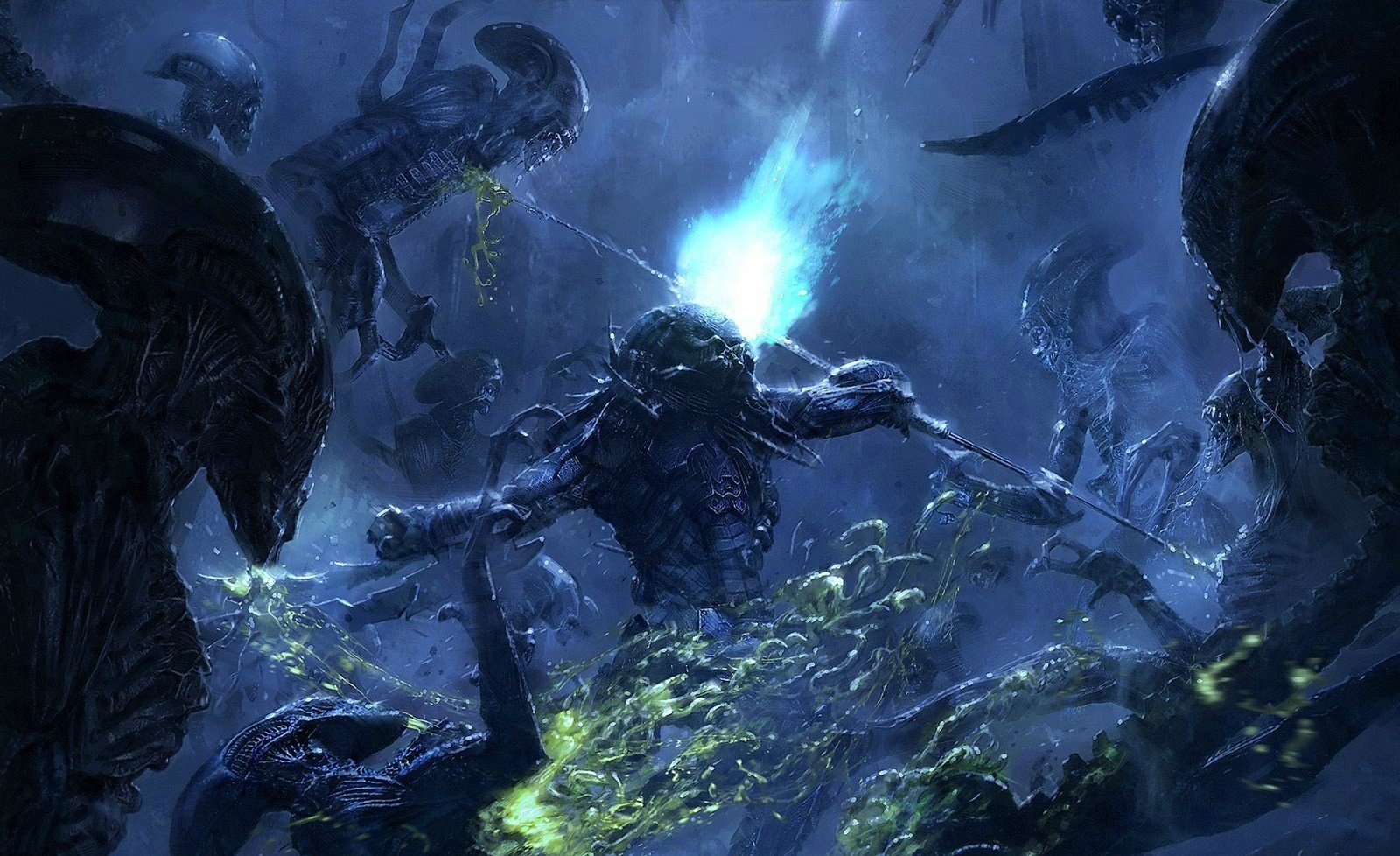 Alien Vs Predator Hd Wallpapers: Alien Vs. Predator Wallpaper And Background Image