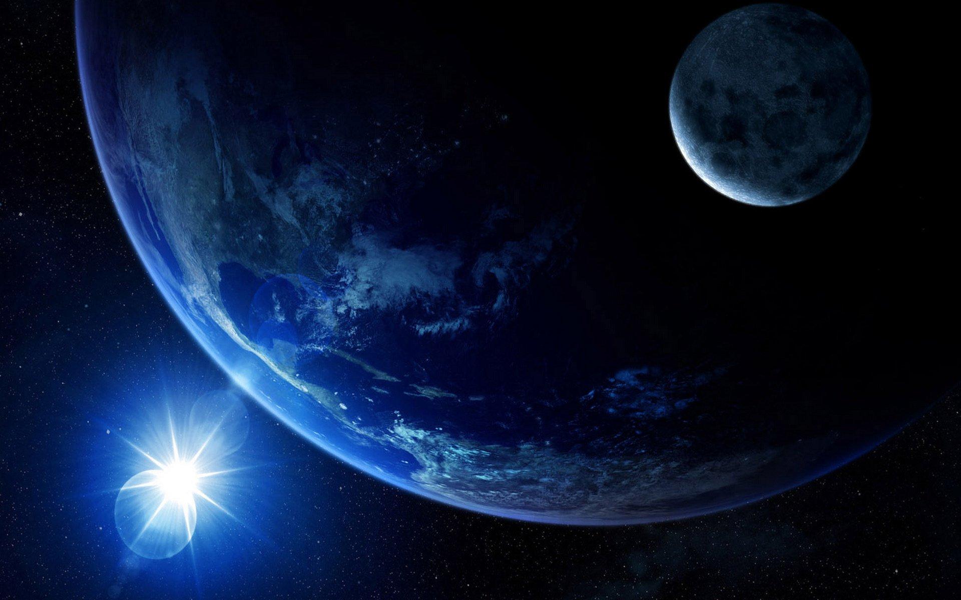 Sci Fi - Planets  Space Sci Fi Planet Eclipse Sun Moon Wallpaper