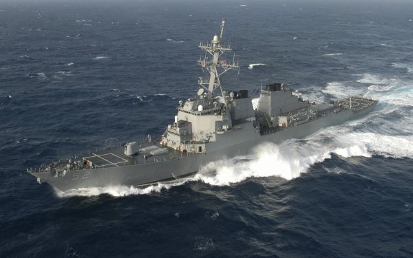 Military USS Barry (DDG-52) Warships United States Navy Destroyer Warship HD Wallpaper   Background Image