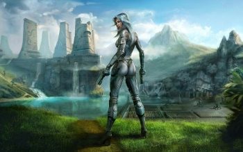 Sci Fi - Women Warrior Wallpapers and Backgrounds ID : 287929