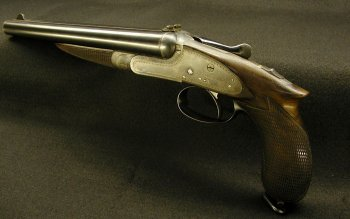 Weapons - Howdah Pistol Wallpapers and Backgrounds ID : 288599