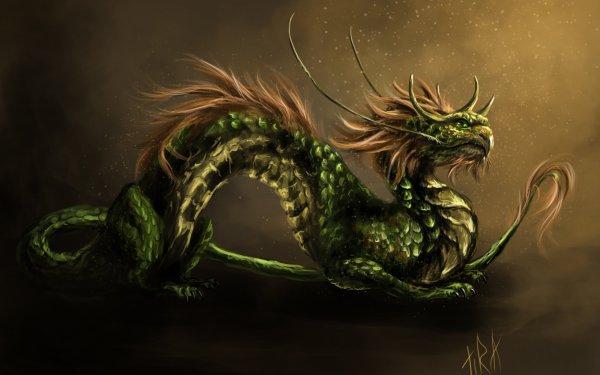 Fantasy Dragon Snake HD Wallpaper   Background Image