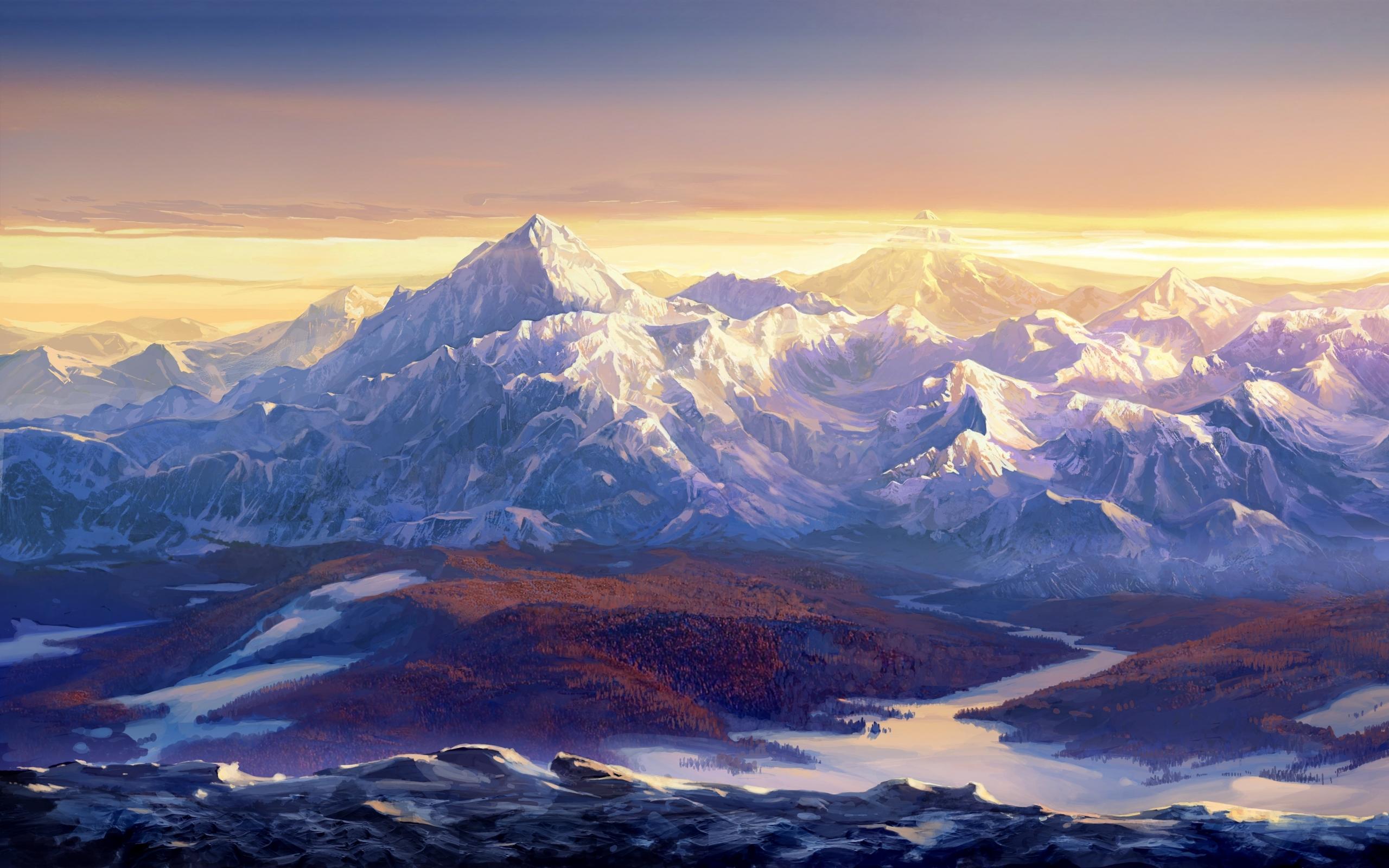 Cool Wallpaper Mountain Fantasy - 290975  2018_918485.jpg