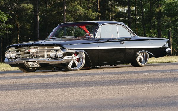 Vehicles Hot Rod Chevrolet Muscle Car Classic Car HD Wallpaper | Background Image
