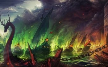 Fantasy - Battle Wallpapers and Backgrounds ID : 291387