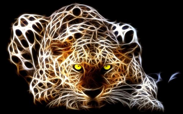 Animal Artistic Leopard HD Wallpaper | Background Image