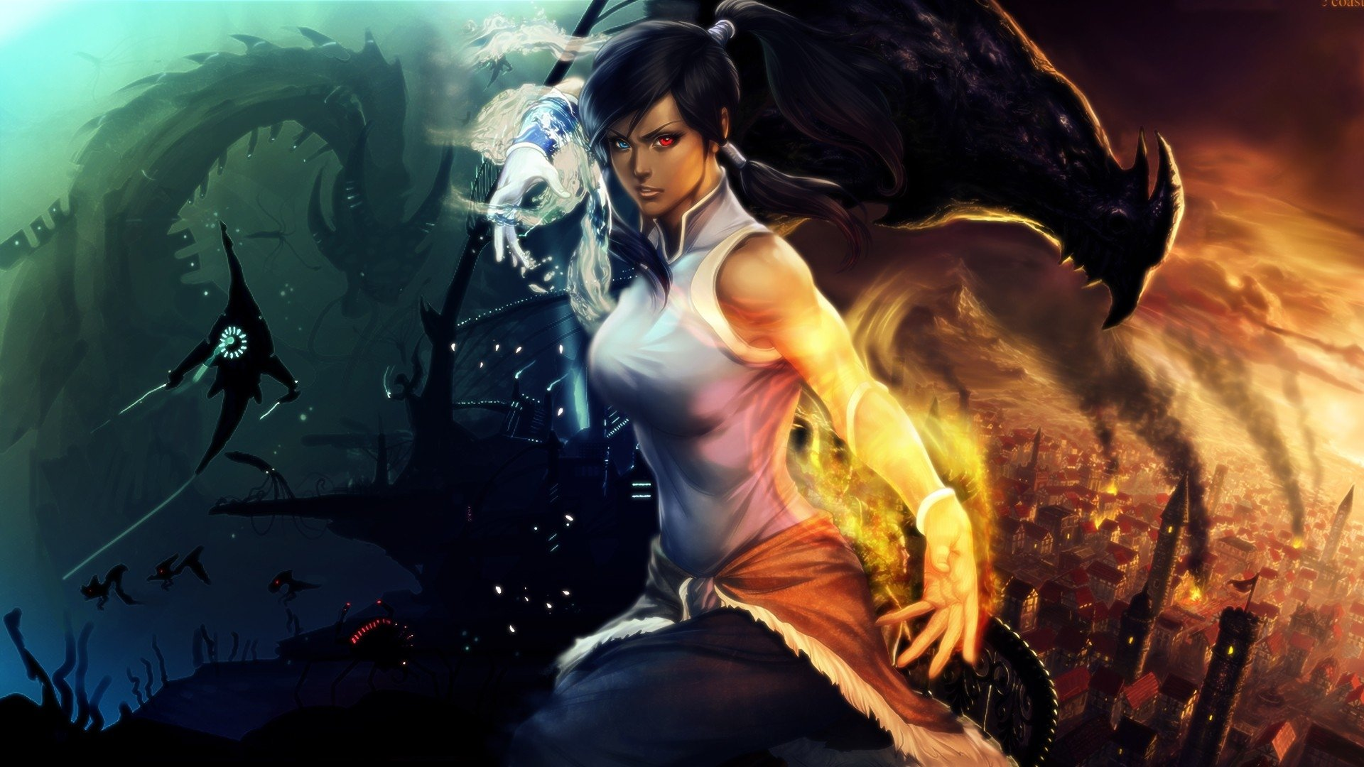 avatar korra wallpaper