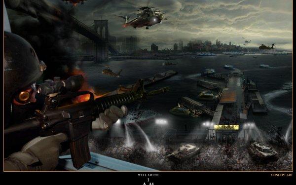 Film I Am Legend Concept Art Fond d'écran HD   Image