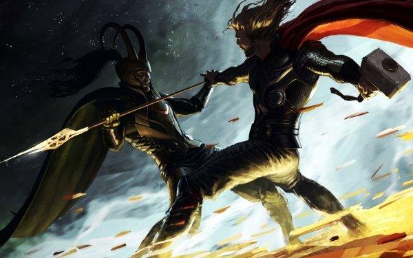 Bande-dessinées Thor Loki Fond d'écran HD | Image