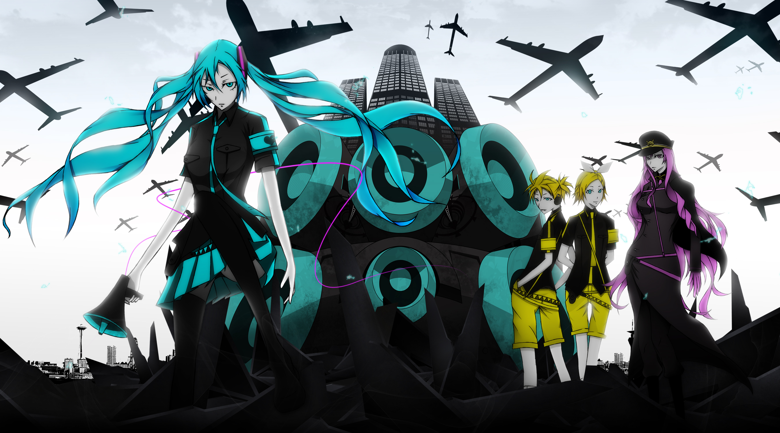 Vocaloid Hd Wallpaper Background Image 2700x1500 Id 293967