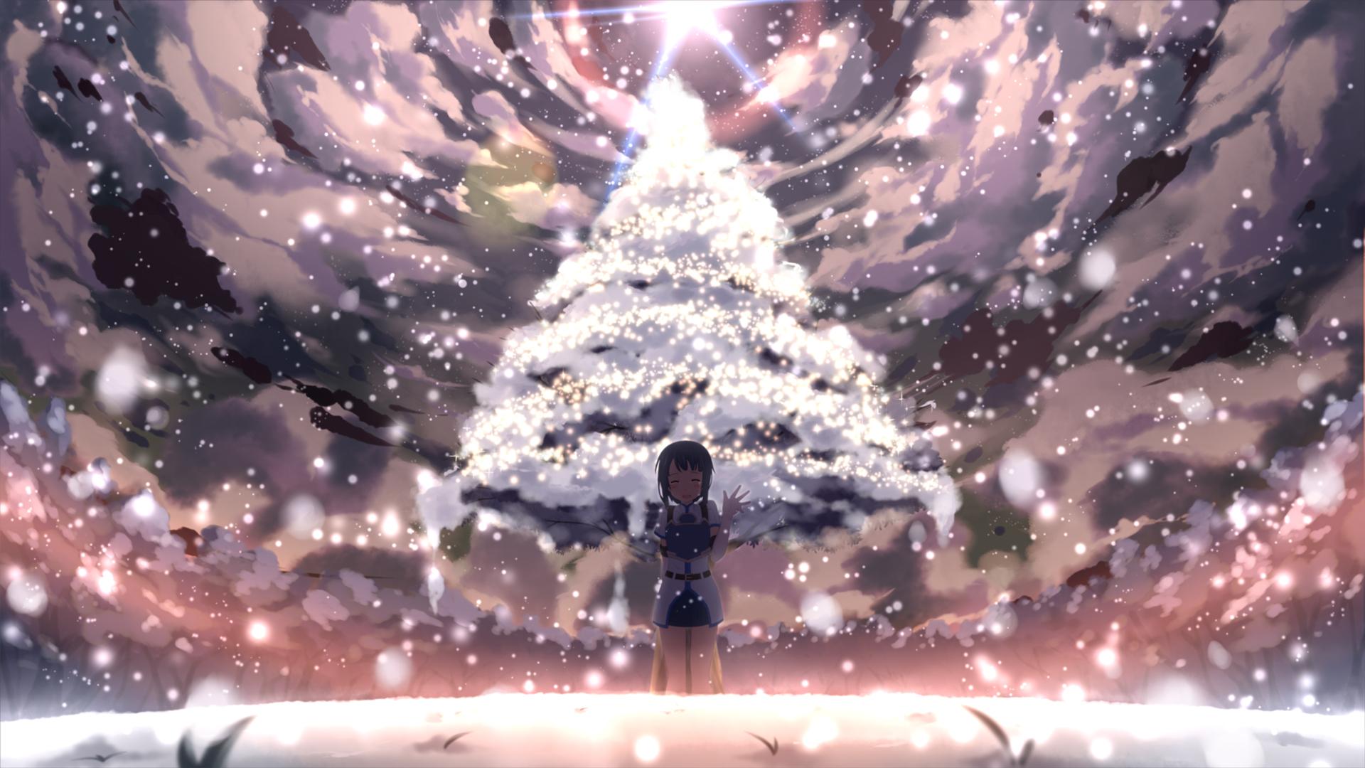 Sword art online hd wallpaper background image - Anime christmas wallpaper ...