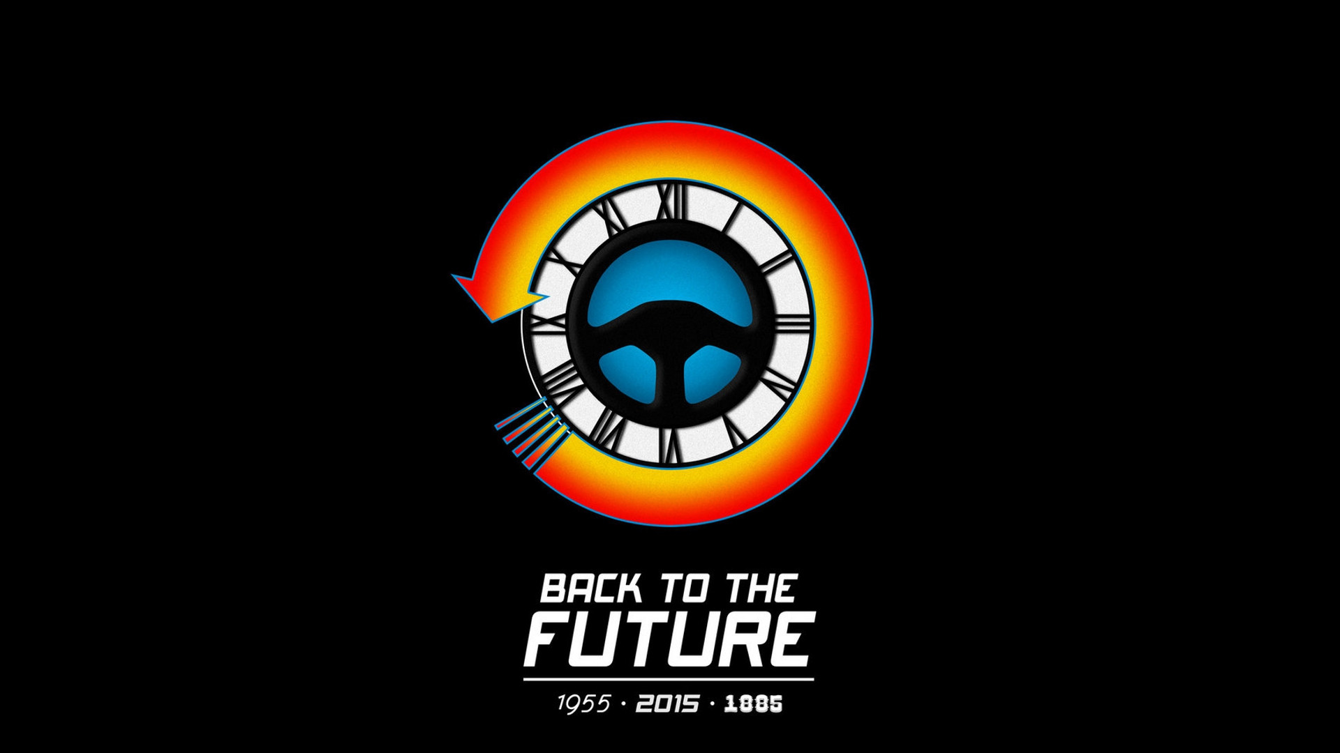 back to the future computer wallpapers desktop