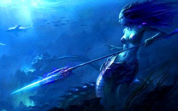 Fantasy - Mermaid Wallpapers and Backgrounds ID : 296097