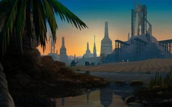 Fantasy - Großstadt Wallpapers and Backgrounds ID : 296665