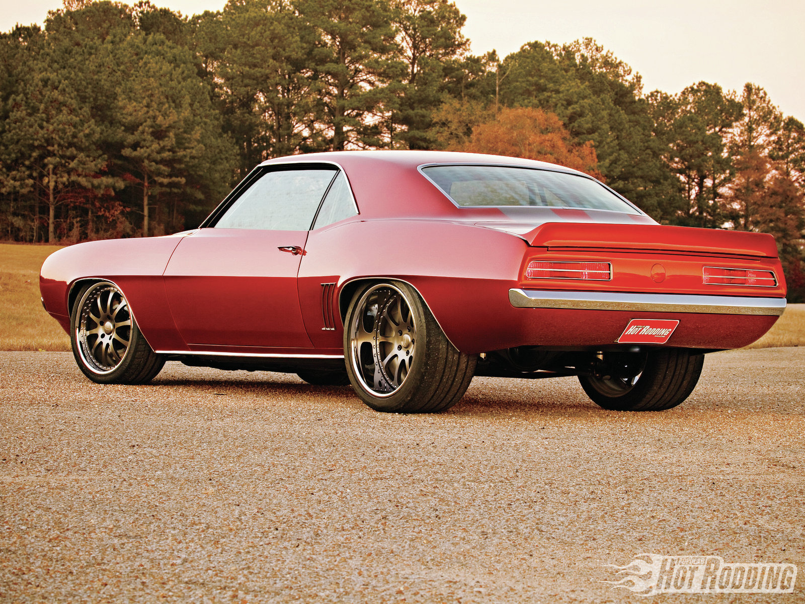 Chevy Muscle Car Wallpaper: 1969 Chevrolet Camaro Wallpaper And Background Image
