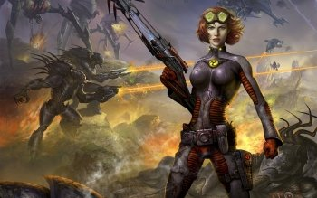 Sciencefiction - Women Warrior Wallpapers and Backgrounds ID : 298959