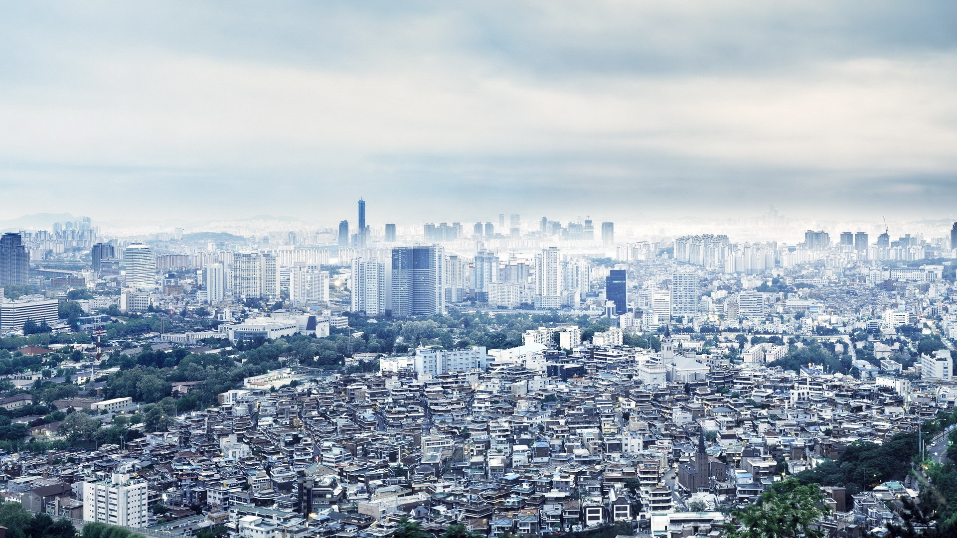 seoul – south korea full hd wallpaper and background image