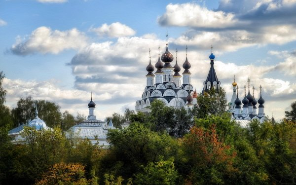 Religious Monastery Cathedral Architecture HD Wallpaper | Background Image