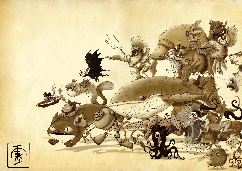 http://igorsan.deviantart/art/crazy-character-invasion-103544807