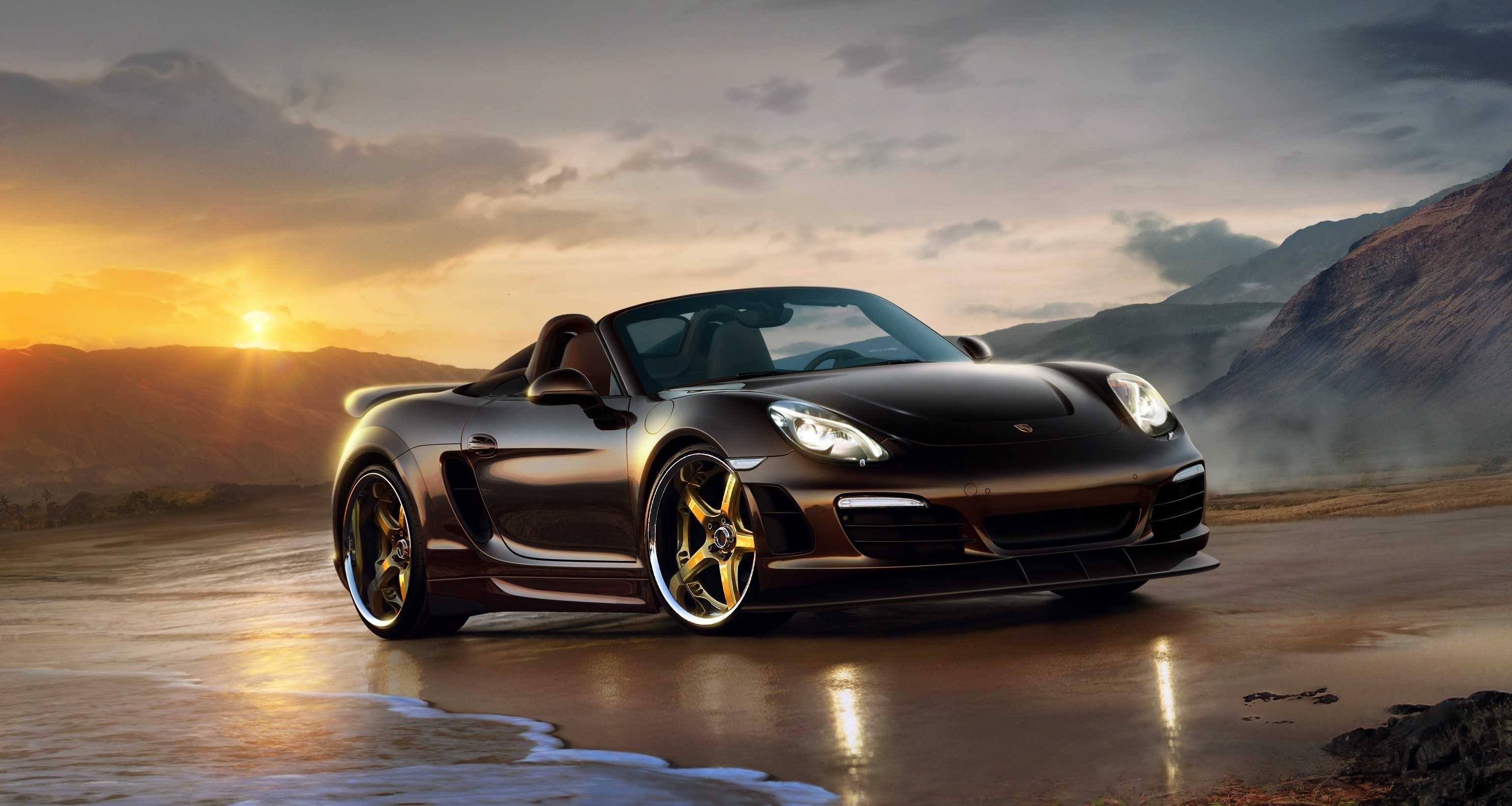Porsche full hd wallpaper and hintergrund 3080x1642 id - Porche para autos ...