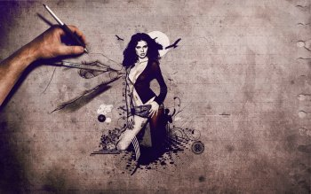 Artistic - Women Wallpapers and Backgrounds ID : 300185
