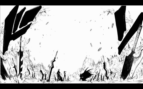 Anime Bleach Ichigo Kurosaki Zangetsu Yoruichi Shihôin HD Wallpaper   Background Image