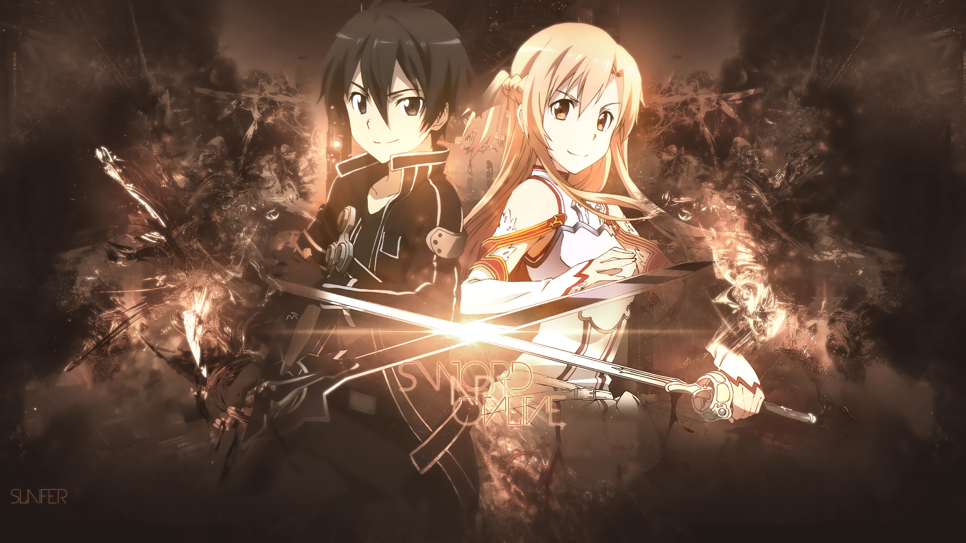 Anime - Sword Art Online  Wallpaper