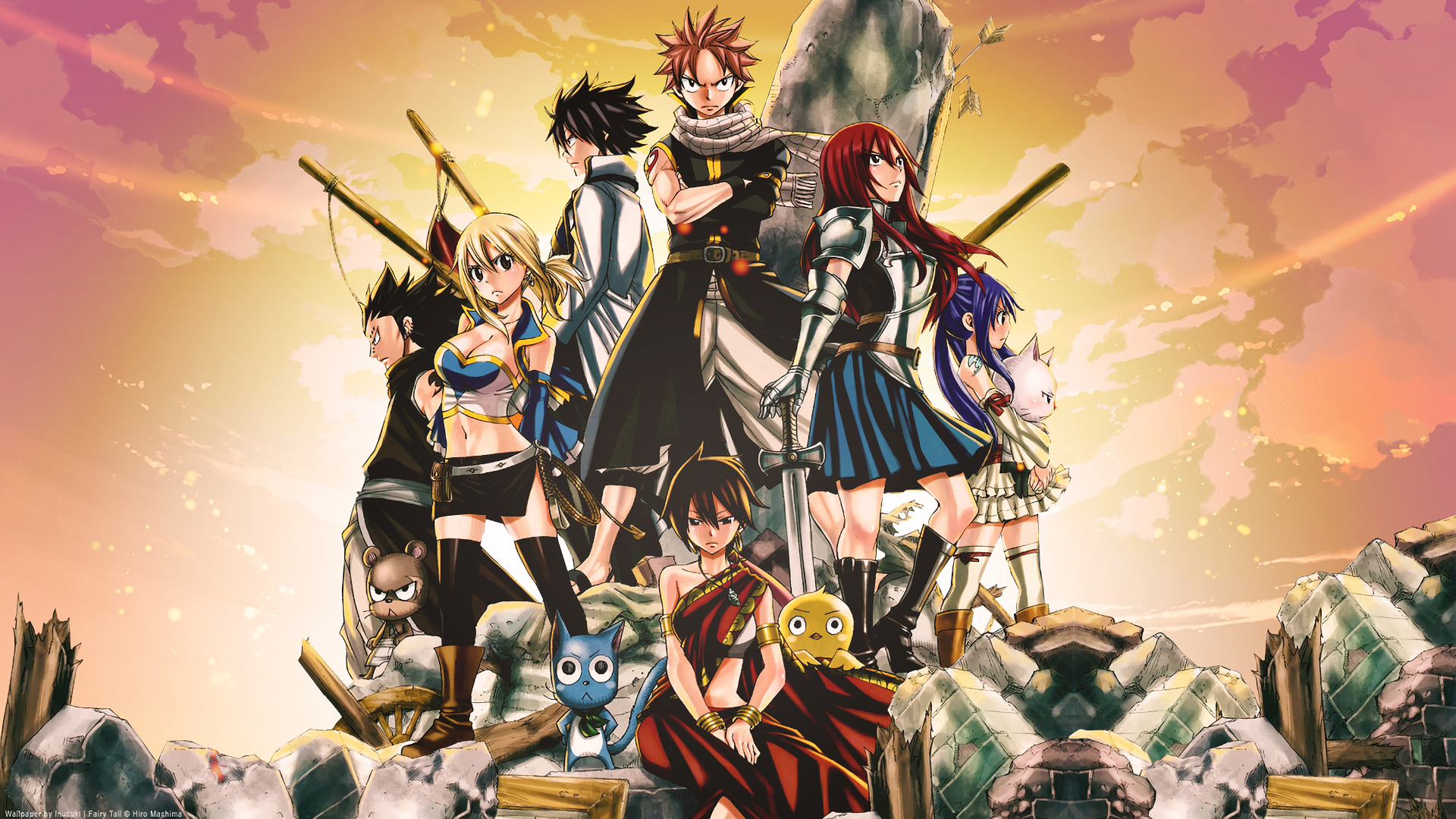 Fairy Tail The Movie Phoenix Priestess Full HD Wallpaper And