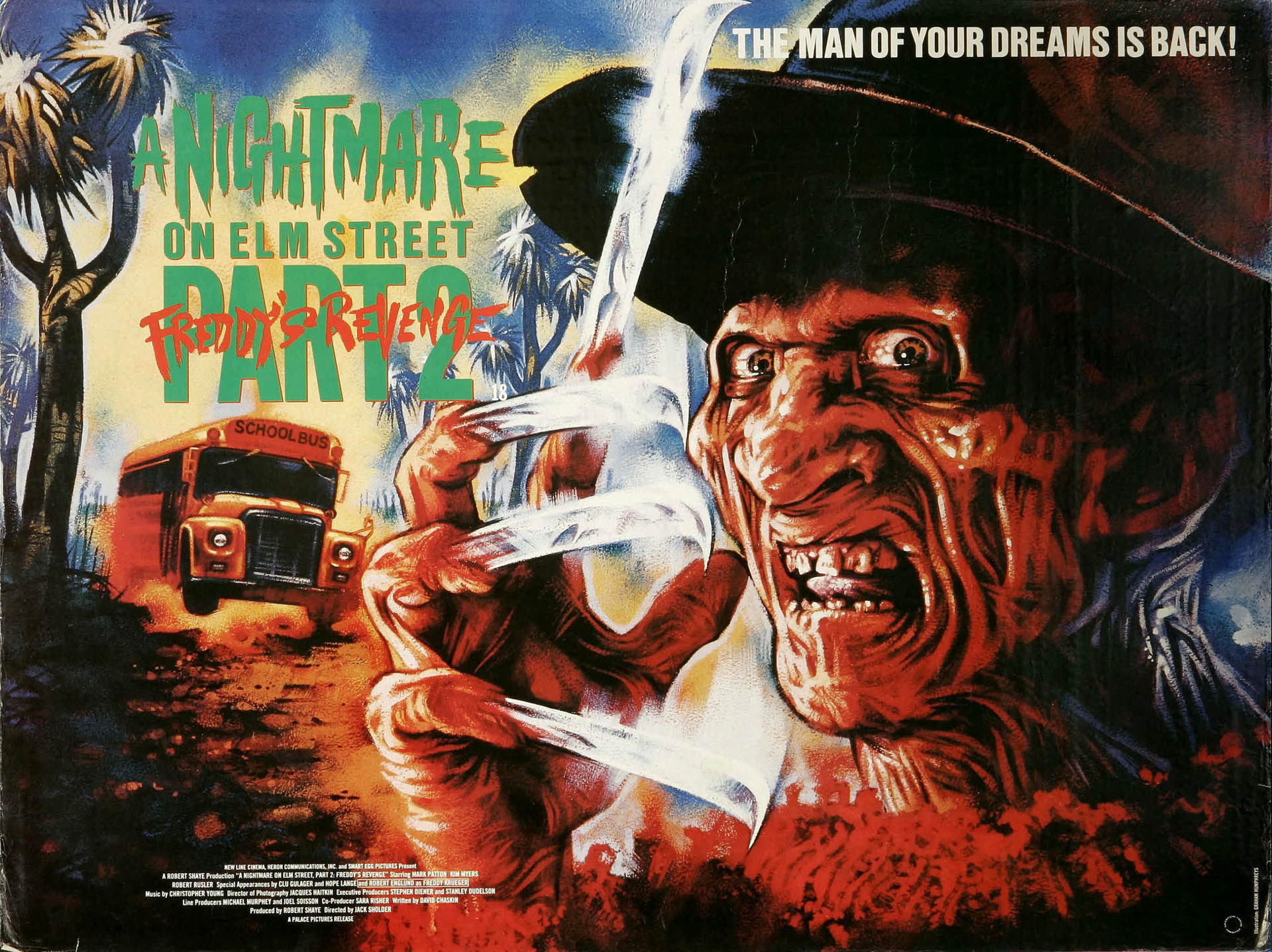 A Nightmare On Elm Street 2 Freddys Revenge Full HD Wallpaper And