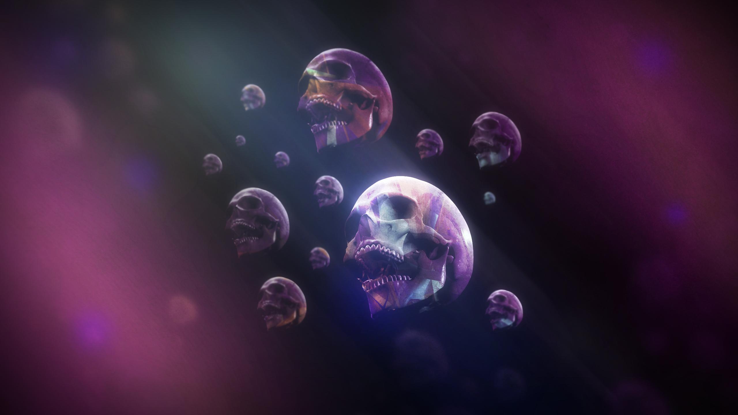 download wallpapers 2560x1600 skulls - photo #23