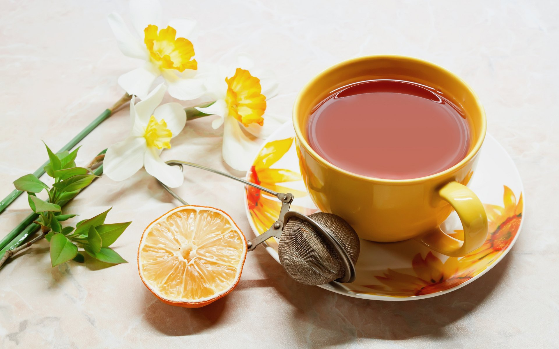 Food - Tea  Still Life Wallpaper
