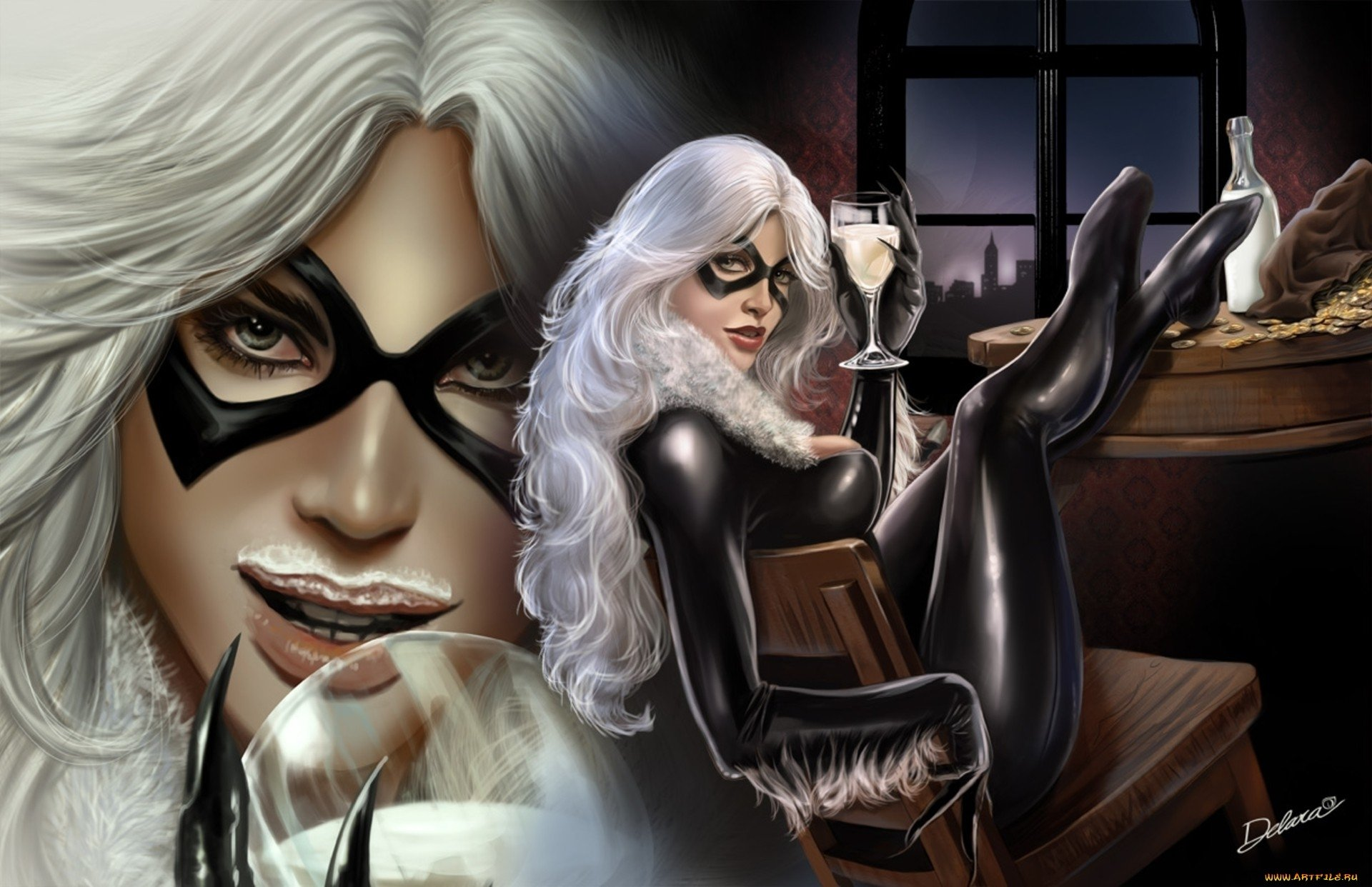 101 Black Cat Marvel Comics Hd Wallpapers Background Images Wallpaper Abyss
