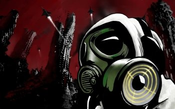 Dark - Gas Mask Wallpapers and Backgrounds ID : 302575