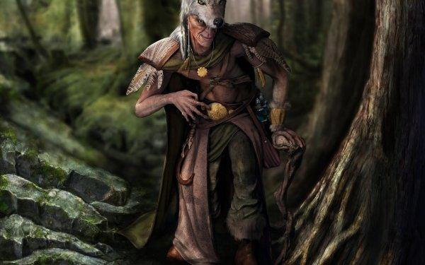 Fantasy People Druid HD Wallpaper   Background Image